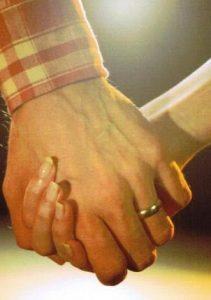 Partnerschaftsseminar Paar Hand in Hand