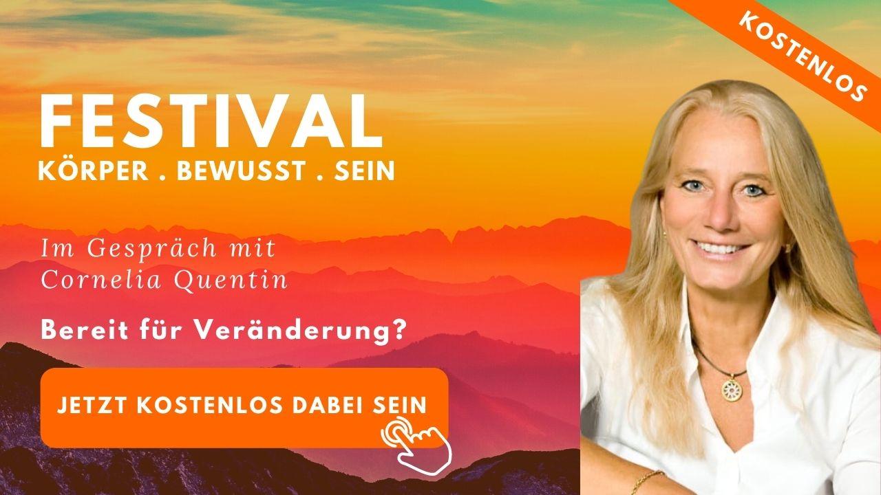 Festival Körper Bewusst Sein - Cornelia-Quentin